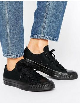 converse-chuck-taylor-all-star-core-black-mono-sneakers by converse