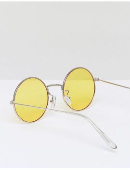 jeepers-peepers-oversized-rounds-with-yellow-lens by jeepers-peepers