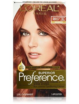 loréal-paris-superior-preference-permanent-hair-color,-rr-07-intense-red-copper by loreal-paris