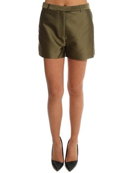 3.1 Phillip Lim Satin Flat Front Shorts by 3.1 Phillip Lim