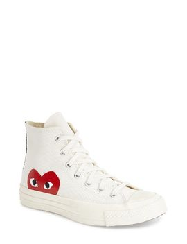 x-converse-chuck-taylor-hidden-heart-high-top-sneaker by comme-des-garÇons-play