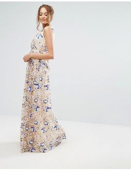 true-decadence-tall-premium-floral-embroidered-maxi-dress by true-decadence-tall