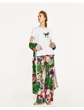 printed-palazzo-trousers--view-alltrousers-woman by zara