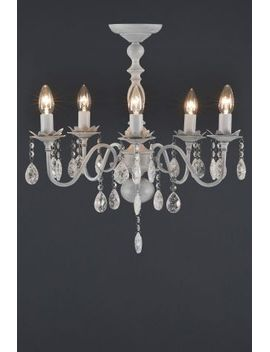 Shoptagr bethany 5 light grey washed chandelier by next bethany 5 light grey washed chandelier by next aloadofball Image collections