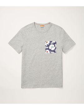 Poppy Floral Pocket T Shirt by Jack Spade