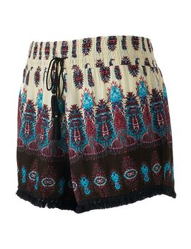 juniors-mudd-print-tassel-hem-soft-shorts by juniors-mudd