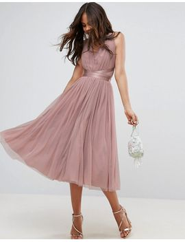 asos-tall-premium-tulle-midi-prom-dress-with-ribbon-ties by asos-tall