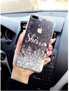 rose-gold-liquid-glitter-phone-case-iphone-7-case-iphone-7-plus-case-iphone-6s-case-iphone-8-case-iphone-8-plus-case-iphone-x-case by etsy
