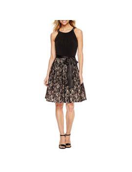 jessica-howard-sleeveless-fit-&-flare-dress by jessica-howard
