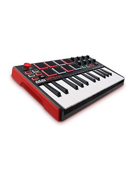 akai-professional-mpk-mini-mkii-25-key-portable-usb-midi-keyboard-with-16-backlit-performance-ready-pads,-8-assignable-q-link-knobs-plus-vip-30-and--software-package-included,-standard by amazon