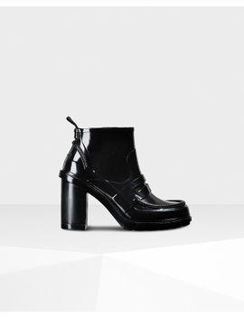 Women's Original Refined High Heel Penny Loafers by Hunter