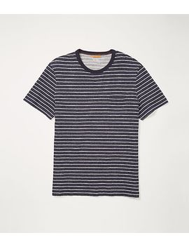 Short Sleeve Striped Tee by Jack Spade
