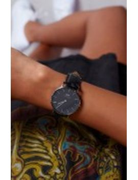 Daniel Wellington Classic Reading 36mm Watch Black Croc by Beginning Boutique