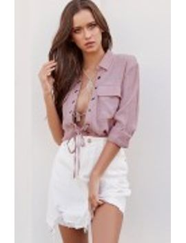 Watson Shirt Blush by Beginning Boutique