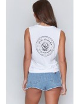Your Aura Is Pulsing Dear Tank White by Beginning Boutique