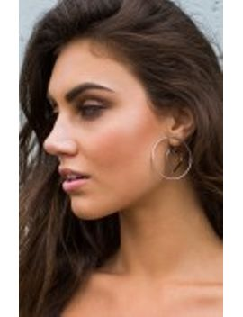 Crush On Me Earrings Silver by Beginning Boutique