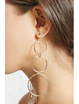 cutout-drop-earrings by forever-21