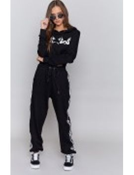 I.Am.Gia Hattori Track Pant Black by Beginning Boutique