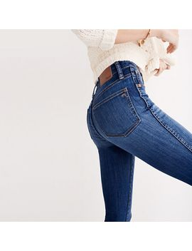"""10""""-high-rise-skinny-jeans-in-danny-wash:-tencel-edition by madewell"""