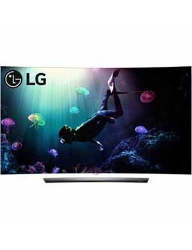 "Lg 55"" Class (54.6"" Actual Diagonal Size) C6 P Series Curved Oled 4 K Hdr Smart Tv by Lg"