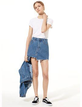 40e8af6f2 Shoptagr   Testani Skirt by Golden By Tna