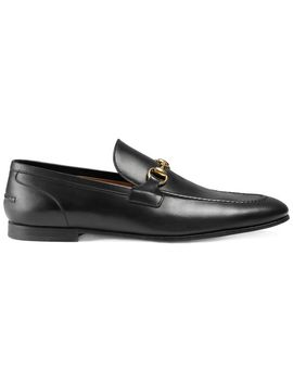 gucci-jordaan-leather-loafer by gucci