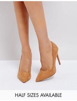 asos-design-paris-pointed-high-heels by asos-design