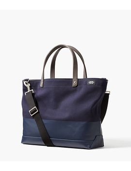 Dipped Canvas Coal Tote by Jack Spade