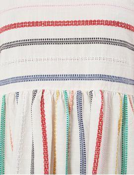 Merry Rainbow Stripe Teasdale Dress by Ace &Amp; Jig
