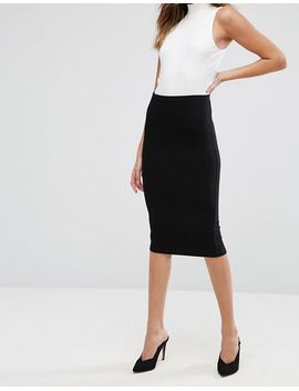 asos-design-jersey-pencil-skirt by asos-design