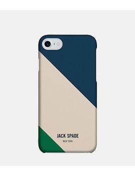 I Phone 7 Repp Stripe Snap Case by Jack Spade