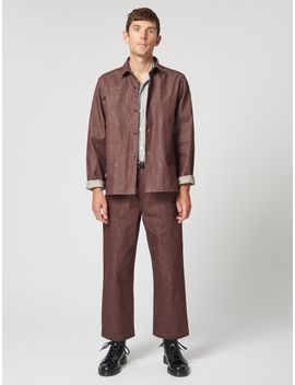 Other George Workshirt Rust Denim by Other