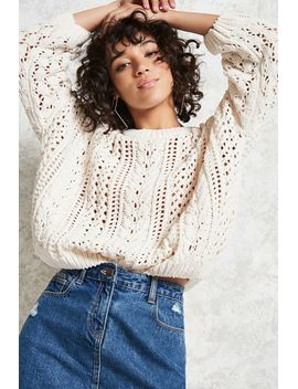 oversized-fisherman-sweater by forever-21