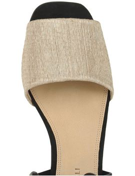 Natural Raffia Canna Lace Up Sandals by Mari Giudicelli