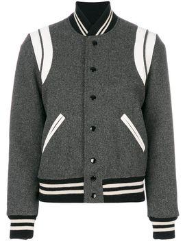 classic-teddy-jacket by saint-laurent