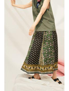 Frs Floral Print Midi Skirt by Designer