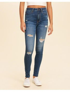 classic-stretch-ultra-high-rise-super-skinny-jeans by hollister