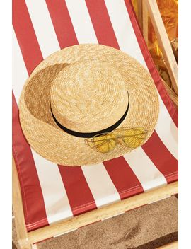 Frs Straw Hat by Designer