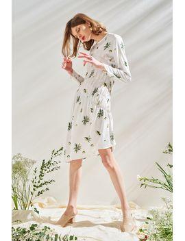 frs-floral-print-irregular-dress by designer