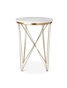 marble-top-round-table-gold---project-62 by shop-collections