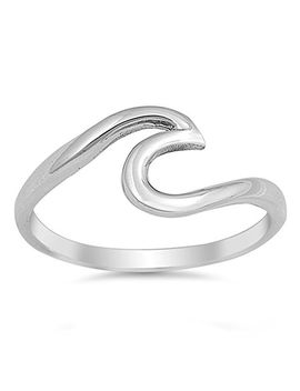 choose-your-color-sterling-silver-wave-ring by sac-silver