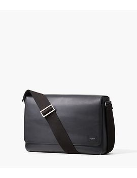 Leather Dipped Messenger by Jack Spade