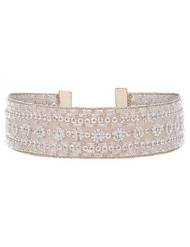 Ballerina Embellished Choker Necklace by Accessorize