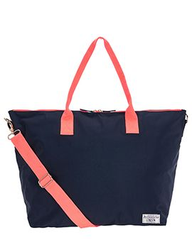 colourblock-packable-weekender-travel-bag by accessorize