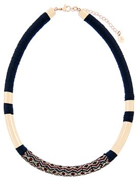 Diamond Beaded Tort Necklace by Accessorize