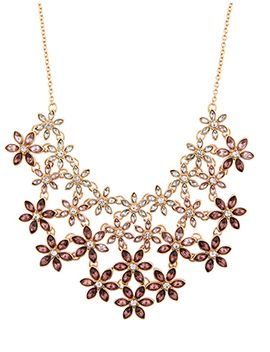 Ombre Flower Statement Necklace by Accessorize