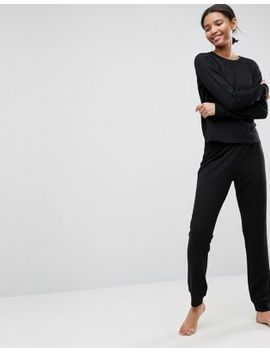 asos-lounge-sweat-&-jogger-set by asos-collection