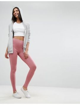asos-high-waisted-leggings-in-winter-mink by asos-collection