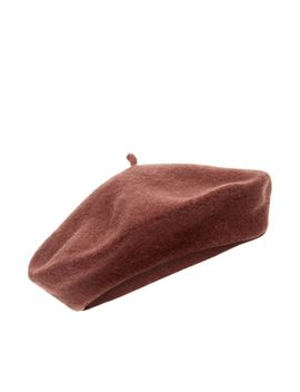 Wool Beret by Accessorize