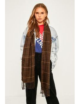 fine-checked-scarf by urban-outfitters